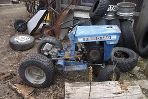 FORD F140 GARDEN TRACTOR