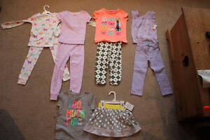 Lot of girls spring clothes