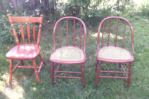 $5.00 EACH FOR CHAIRS