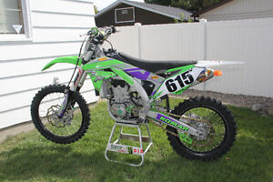Epic 16 KX 450 with loads of extras.