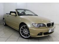 2003 03 BMW 3 SERIES 2.2 320CI SE 2DR AUTOMATIC 168 BHP