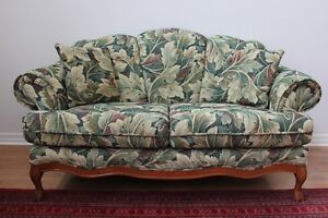 Fabric Couch and Loveseat