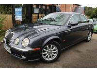 2002 Jaguar S-Type 3.0 V6 SE Grey Auto FSH Long MOT Low Miles Finance Available