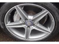 2014 14 MERCEDES-BENZ C-CLASS 2.1 C220 BLUETEC AMG LINE 4D AUTO 170 BHP DIESEL