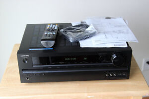 High end audio video receivers Denon, Onkyo,
