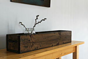 RUSTIC FARMHOUSE WOOD BOXES