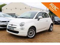 2016 66 FIAT 500 1.2 POP STAR 3D 69 BHP - USED CAR DEALER OF THE YEAR