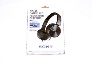 Sony Noise Cancelling Headphones - MDR-ZX110NC
