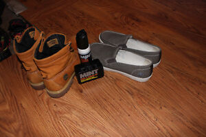 timberland boots and loafers (Priced to sell!)