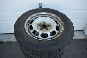 Toyota Rav4 225/65/17 BF Goodrich Snows On Rims 65% Tread