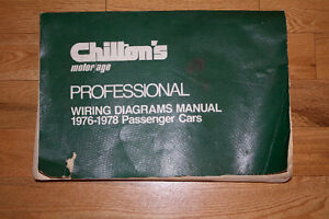 CHILTONS ELECTRIC WIRING BOOK