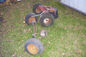 LAWN TRACTOR FRONT AXEL & PARTS London Ontario image 3
