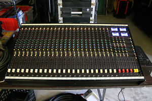 Soundcraft 200 24 channel mixer
