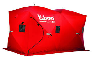 Eskimo 69149 Quickfish 6 Pop-up Portable Ice Shelter, 6 person