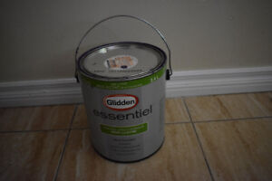 Glidden Essential Paint- perpetual purple- 75% full