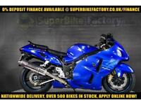 2007 56 SUZUKI GSX1300R HAYABUSA 1300CC 0% DEPOSIT FINANCE AVAILABLE