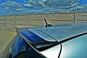 Dachspoiler carbon Ansatz Heckspoiler für BMW 1er e87 e81 Spoiler Kantenspoiler