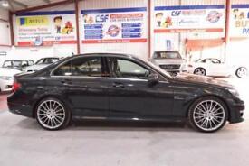 2013 63 MERCEDES-BENZ C CLASS 6.2 C63 AMG 4D AUTO 457 BHP