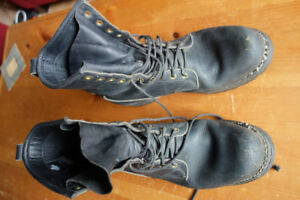 Old School Hipster Dayton Boots Size 10.5 Beards not required