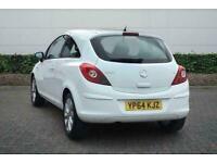 2014 Vauxhall Corsa 1.2 Excite 3dr [AC] Hatchback Manual Hatchback Petrol Manual