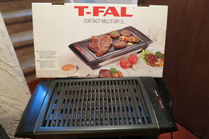 T-Fall multigrill - Smoke free indoor Electric Barbecue.