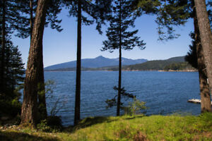 5 Acres Low Bank Waterfront Building Site (Gambier Island)