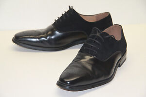 Men's Italian Leather and suede dress shoe