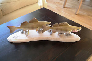 Christmas gifts for the fisherman (Hand carved fish) Regina Regina Area image 1