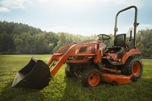 """Kioti CS2210 Tractor with Loader and 60"""" Mower"""