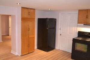 For Rent - All Inclusive Huge One Bedroom Basement Apartment