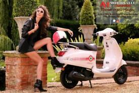Neco Azzuro 125cc Retro Alooking scooter learner legal