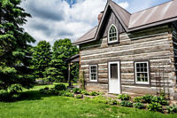 Spectacular Haliburton 200 acre with century log and stone!!!!!