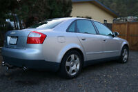 WINTER READY! - 2004 Audi A4 AWD 1.8T 4 door Sedan