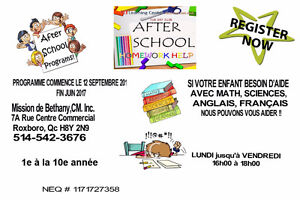 VOLUNTEERS- NEEDED TO HELP CHILDREN IN MATH, FRENCH AND SCIENCE West Island Greater Montréal image 2