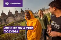 """Escorted National Geographic Journey to Northern India from YVR"