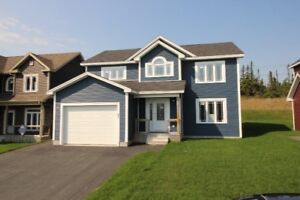 Lovely Open Concept Kitchen,Dining & Family Room With Fireplace