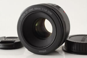 Canon EF Lens 50mm f1.8 STM 100% CONDITION