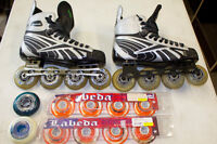 All you need for roller hockey