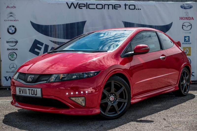 2011 Honda Civic 2 0 I Vtec Type R Gt 18 Inch Black Alloy Wheels Rear Parking Se In Cardiff