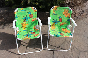 Child-size Folding Lawn Chairs
