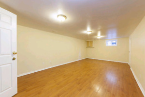 2 bedroom basement for rent Malton from 1st September