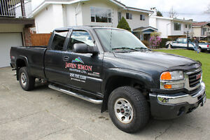 2005 GMC 3500HD Duramax Extended Cab Long Box 4x4