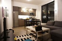 3 or 2 bedrooms, 5 1/2 (4 1/2), New Building summer sublet