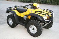 WANTED LOW KM HONDA 450 or 500 FOREMAN