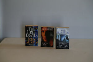 John Grisham- The Brethren, The Pelican Brief, The Street Lawyer