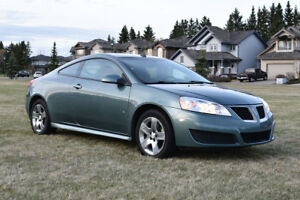 2009 Pontiac G6  - Low Km, command start, winter tires