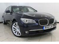 2012 12 BMW 7 SERIES 3.0 730LD SE 4DR AUTOMATIC 242 BHP DIESEL