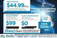 ShawDirect & SkyChoice, Oakville's best value for TV + Internet