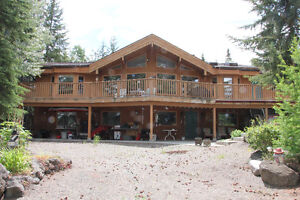 Beautiful WATERFRONT home in the South Cariboo