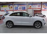 2013 13 AUDI Q3 2.0 TDI QUATTRO S LINE 5D AUTO 175 BHP DIESEL